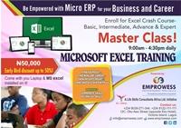 Flyer Emprowess Excel Trainig 4